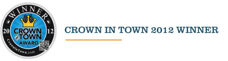 Crown In Town 2012 Award