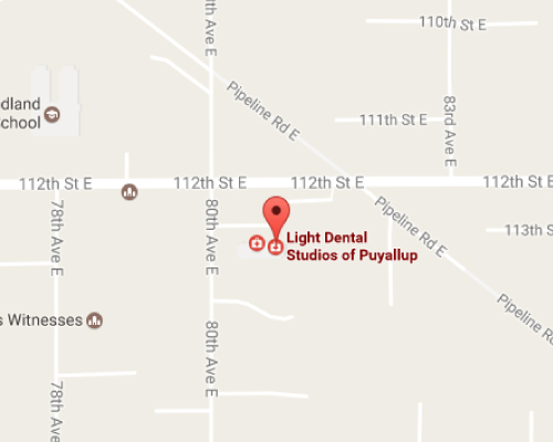 Puyallup Dentist Map
