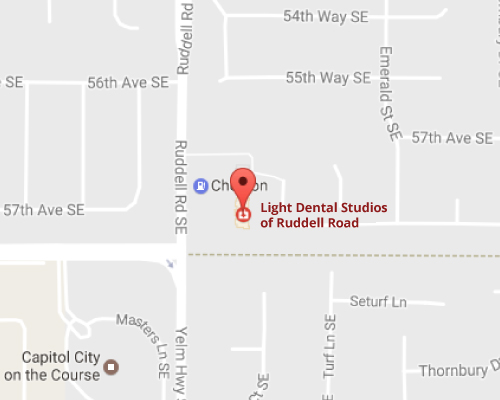 Ruddell Road Dentist Map