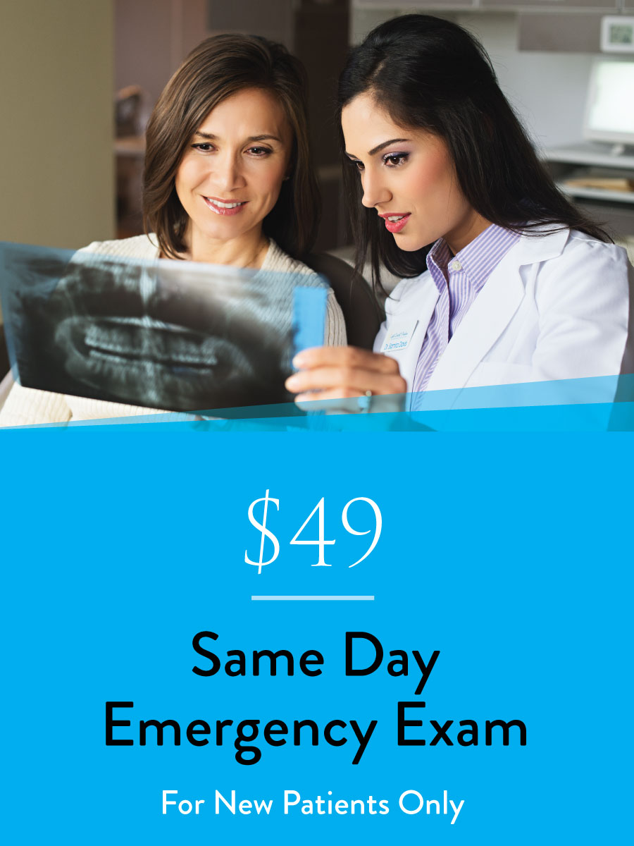 $49 Emergency Exam
