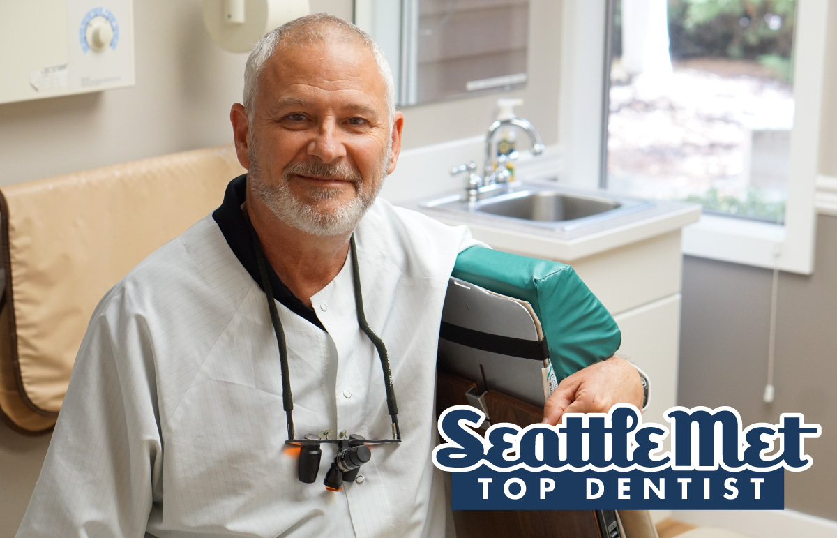 Dr. Ted Baer voted Top Dentist by Seattle Met
